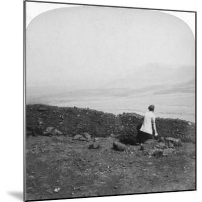Spion Kop, from a Boer Trench on Krantz Kloot, South Africa, 1901-Underwood & Underwood-Mounted Giclee Print