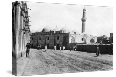 Mosque on River Street, Baghdad, Mesopotamia, Wwi, 1918--Stretched Canvas Print