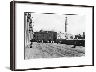 Mosque on River Street, Baghdad, Mesopotamia, Wwi, 1918--Framed Giclee Print