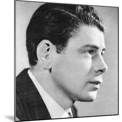 Paul Muni, American Film Actor, 1934-1935--Mounted Giclee Print