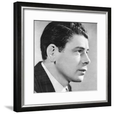 Paul Muni, American Film Actor, 1934-1935--Framed Giclee Print