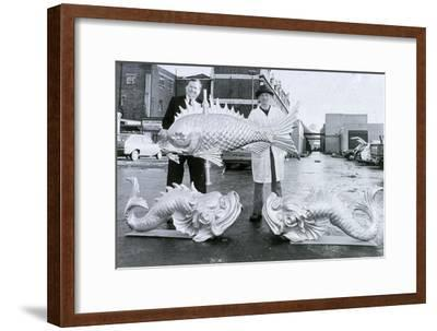 Weather Vanes, Billingsgate Market, C1981--Framed Giclee Print