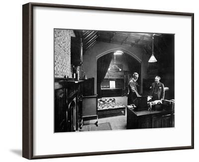 The Deputy Speaker's Office, House of Commons, Westminster, London, C1905--Framed Giclee Print