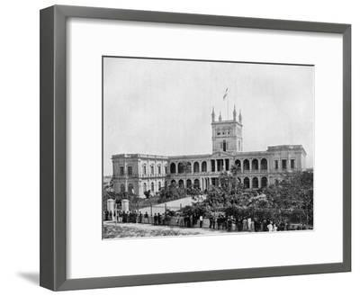 Government House, Asuncion, Paraguay, 1911--Framed Giclee Print