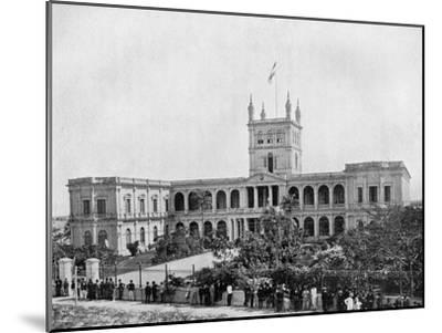 Government House, Asuncion, Paraguay, 1911--Mounted Giclee Print