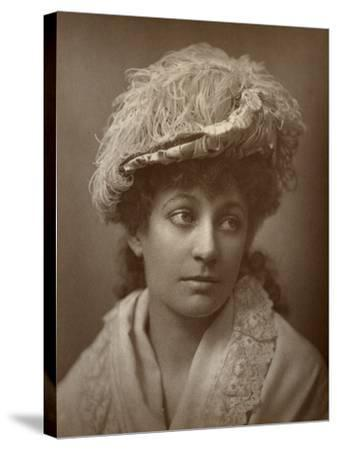 Lucy Buckstone, British Actress, 1884--Stretched Canvas Print