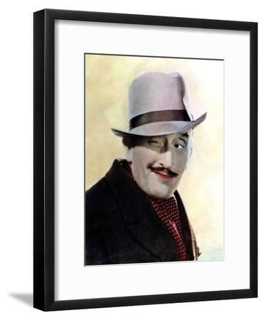 Tom Walls, English Actor and Director, 1934-1935--Framed Giclee Print