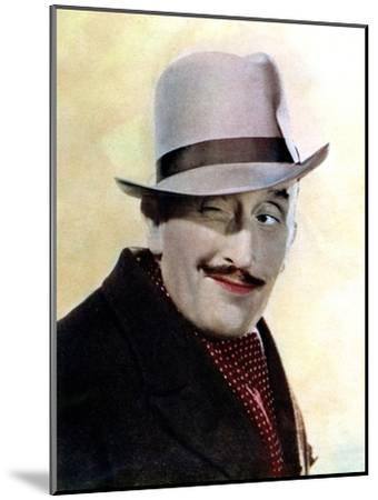 Tom Walls, English Actor and Director, 1934-1935--Mounted Giclee Print