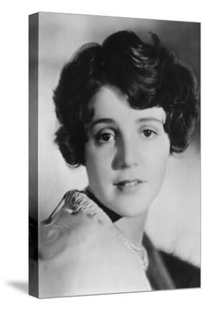 Sue Carol (1906-198), Amerian Actress, 20th Century--Stretched Canvas Print