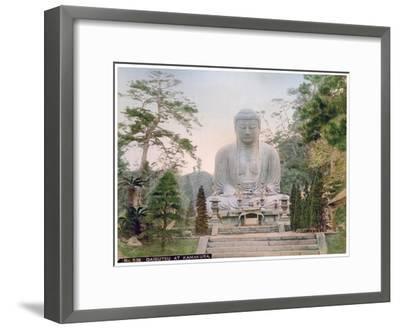 Daibutsu at Kamakura, Japan, Early 20th Century--Framed Giclee Print
