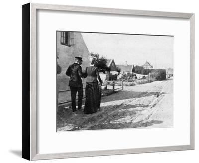 Landing at Skagen, Denmark, 1908--Framed Giclee Print
