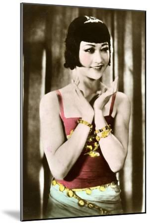 Anna May Wong (1905-196), Chinese-American Actress, 20th Century--Mounted Giclee Print