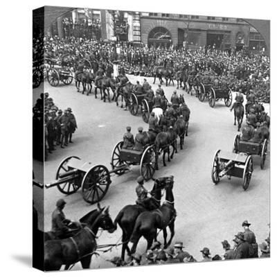 Commemoration of the End of World War I, London, 1919--Stretched Canvas Print