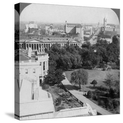 Washington Dc., USA, 1902-Underwood & Underwood-Stretched Canvas Print