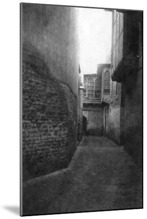 A Street in Baghdad, 1918--Mounted Giclee Print
