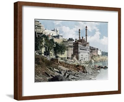 The Aurangzeb Mosque, Varanasi, India, C1890--Framed Giclee Print