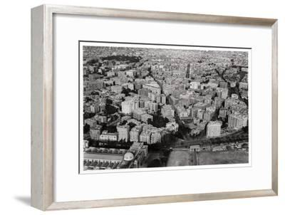 Aerial View of New Cairo, Egypt, from a Zeppelin, 1931--Framed Giclee Print
