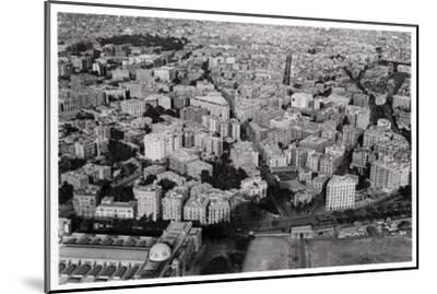 Aerial View of New Cairo, Egypt, from a Zeppelin, 1931--Mounted Giclee Print