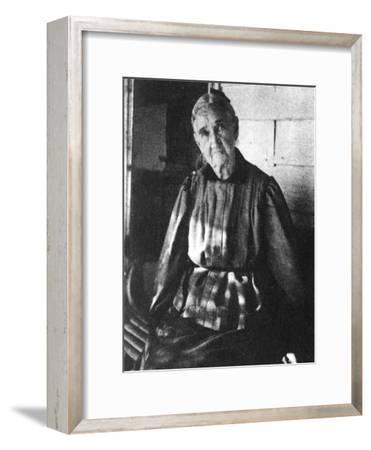 Zerelda Samuel, Mother of American Outlaws Jesse and Frank James, C1885-1915--Framed Giclee Print
