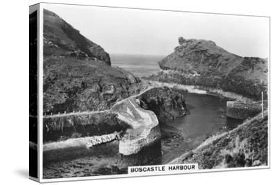 Boscastle Harbour, Cornwall, 1937--Stretched Canvas Print
