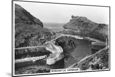 Boscastle Harbour, Cornwall, 1937--Mounted Giclee Print
