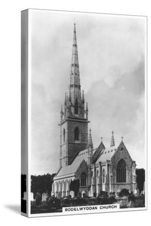 The Marble Church (St Margaret's Churc), Bodelwyddan, North Wales, 1936--Stretched Canvas Print