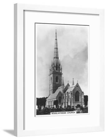 The Marble Church (St Margaret's Churc), Bodelwyddan, North Wales, 1936--Framed Giclee Print