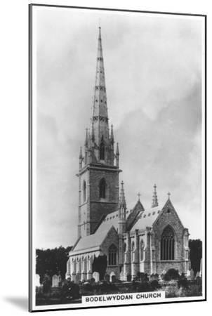 The Marble Church (St Margaret's Churc), Bodelwyddan, North Wales, 1936--Mounted Giclee Print