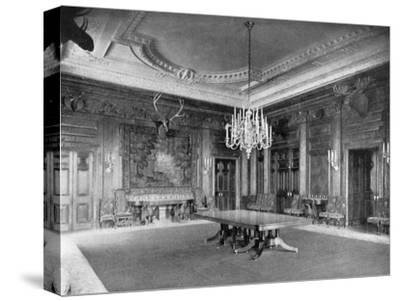 The State Dining-Room at the White House, Washington Dc, USA, 1908--Stretched Canvas Print