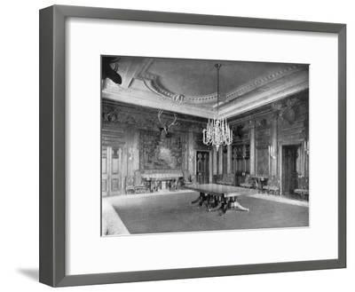 The State Dining-Room at the White House, Washington Dc, USA, 1908--Framed Giclee Print