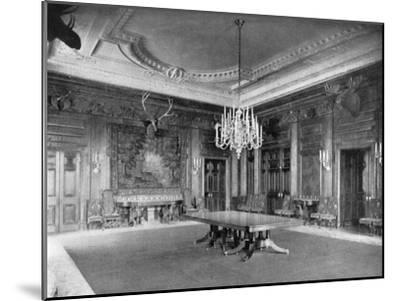 The State Dining-Room at the White House, Washington Dc, USA, 1908--Mounted Giclee Print
