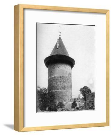 Joan of Arc's Tower, Rouen, France, C1920--Framed Giclee Print
