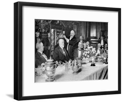 The Coronation of the Master of the Girdlers' Company, London, 1926-1927--Framed Giclee Print