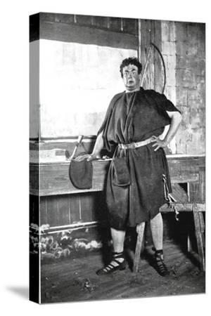 Oscar Asche (1871-193), Australian-Born British Actor--Stretched Canvas Print