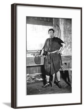 Oscar Asche (1871-193), Australian-Born British Actor--Framed Giclee Print