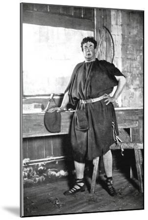 Oscar Asche (1871-193), Australian-Born British Actor--Mounted Giclee Print