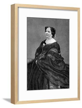 Louise Colet, French Poet, 1874--Framed Giclee Print