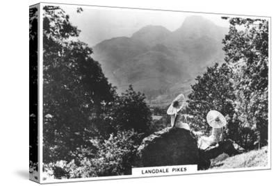 Langdale Pikes, Cumbria, 1936--Stretched Canvas Print