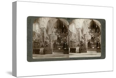 Church of the Armenian Christians, Jerusalem, Palestine, 1897-Underwood & Underwood-Stretched Canvas Print