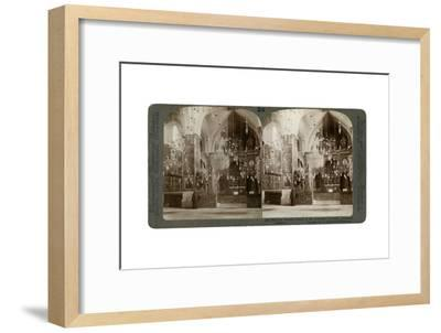 Church of the Armenian Christians, Jerusalem, Palestine, 1897-Underwood & Underwood-Framed Giclee Print