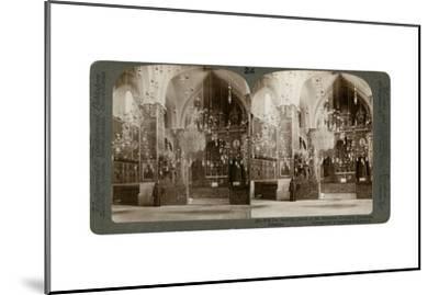 Church of the Armenian Christians, Jerusalem, Palestine, 1897-Underwood & Underwood-Mounted Giclee Print