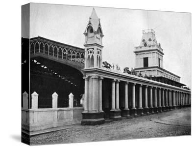 Paraguayan Central Railway Station, Asuncion, Paraguay, 1911--Stretched Canvas Print