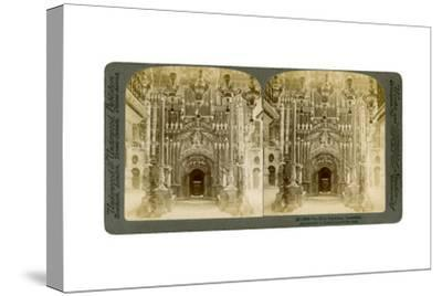 Church of the Holy Sepulchre, Jerusalem, Palestine, 1897-Underwood & Underwood-Stretched Canvas Print