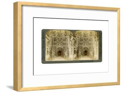 Church of the Holy Sepulchre, Jerusalem, Palestine, 1897-Underwood & Underwood-Framed Giclee Print