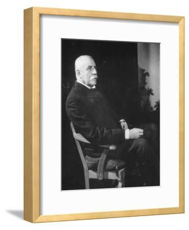 Sir Edward Elgar, (1857-193), English Composer, Early 20th Century--Framed Giclee Print