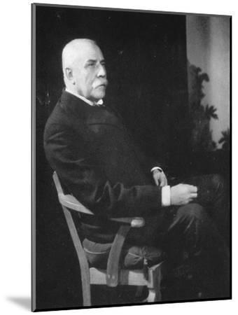 Sir Edward Elgar, (1857-193), English Composer, Early 20th Century--Mounted Giclee Print