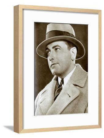 Richard Barthelmess, American Actor, 1933--Framed Giclee Print
