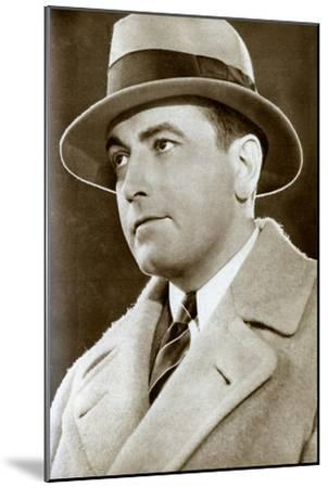 Richard Barthelmess, American Actor, 1933--Mounted Giclee Print