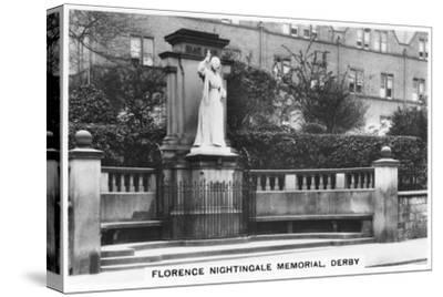 Florence Nightingale Memorial, Derby, 1937--Stretched Canvas Print