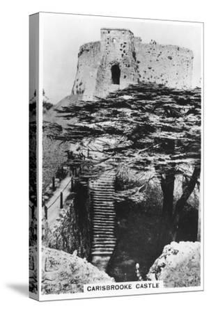 Carisbrooke Castle, Isle of Wight, 1937--Stretched Canvas Print